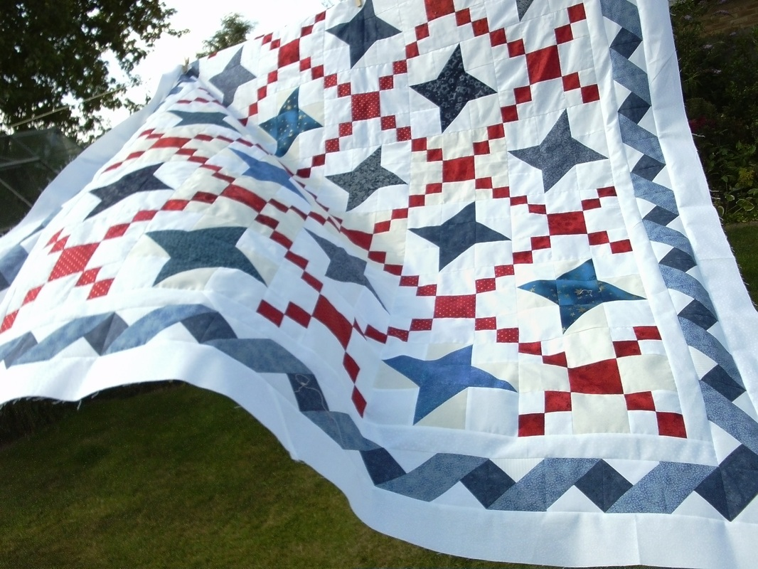 Twisted Ribbon Border - Nicola Foreman Quilts