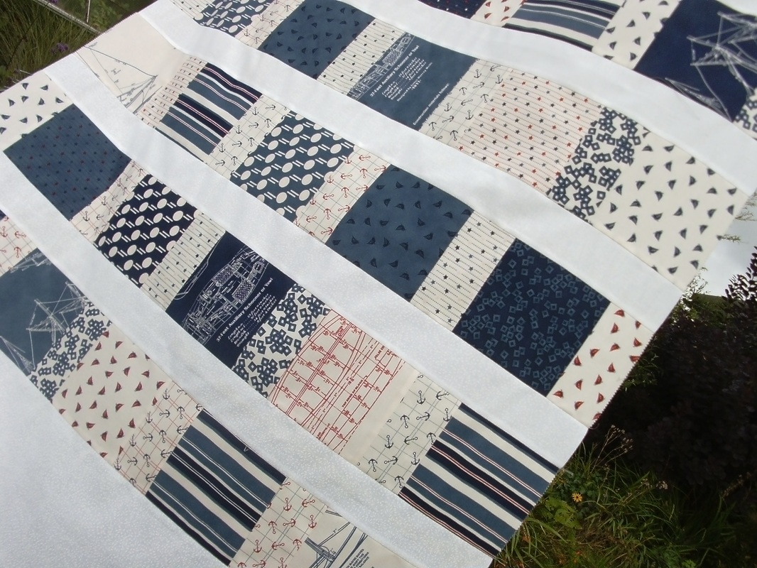 A nautical quilt for oliver nicola foreman quilts